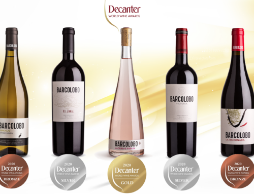Los vinos BARCOLOBO, premiados en Decanter World Wine Awards