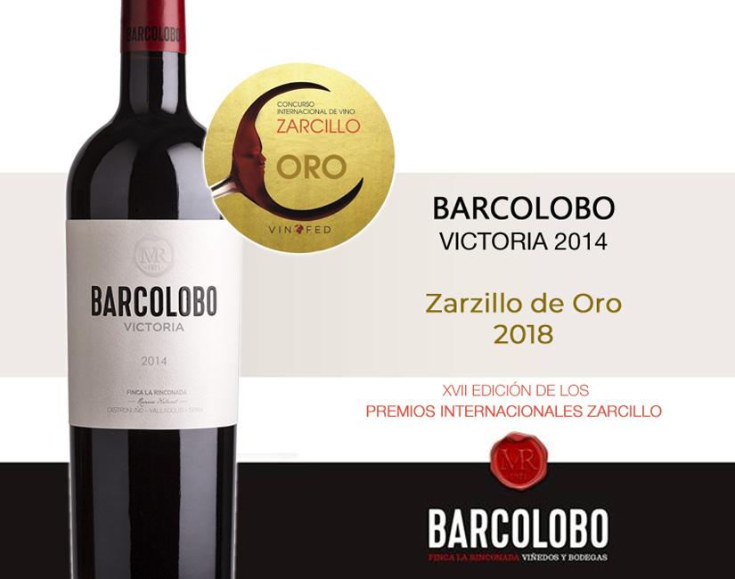 Barcolobo Victoria Zarcillo de oro 2018